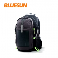 Bluesun Free Shipping Outdoor Sports Solar Backpack