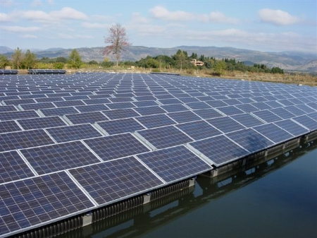 It is the largest floating solar power station in the world