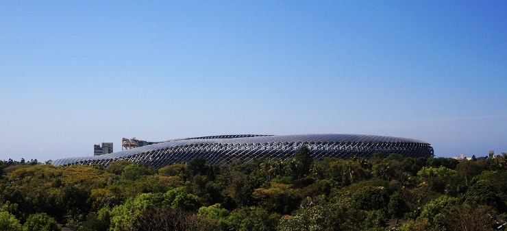 Taiwan Solar Powered Stadium
