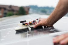 The Swiss university has developed a clean robot for rooftop photovoltaic systems