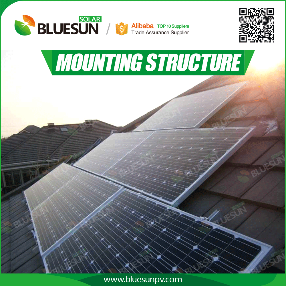Pitched Roof Solar Panel Roof Mounting Systems