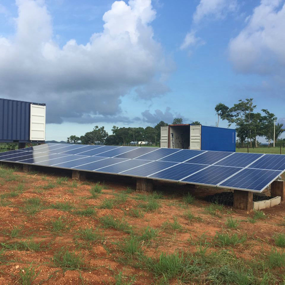 8KW Off Grid Solar System in Panama  for Residential Use