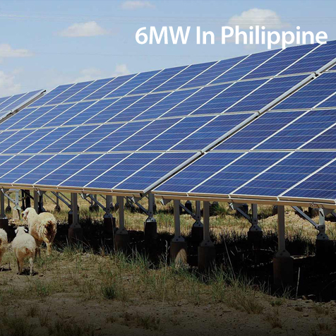6MW Solar power plant in Philippine
