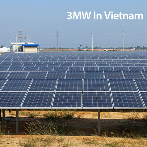 3MW Solar power plant in Vietnam