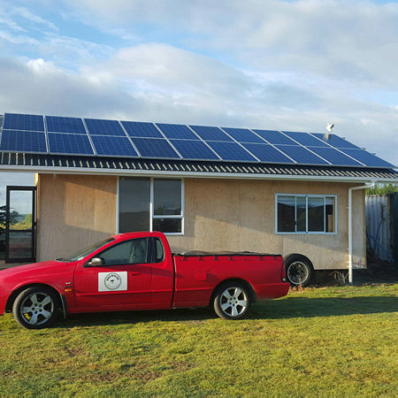 5KW Off Grid Solar System in New Zealand for Residential