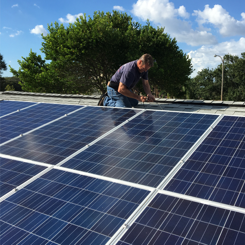 3KW Grid Tied Solar System in Florida For Residential