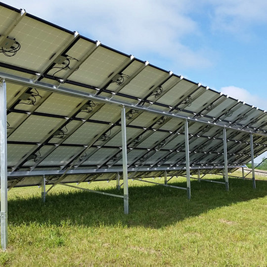 20KW On Grid Solar System in Canada for Commercial Use
