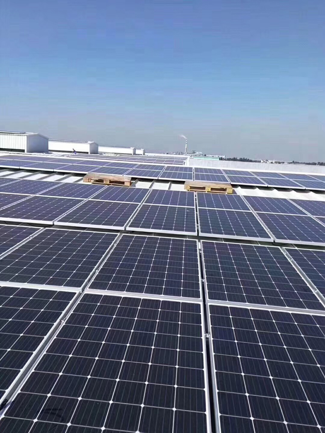 200KW On Grid Solar System in Mexico for Commercial use