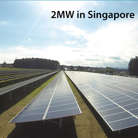 2MW Solar Power Plant In Singapore