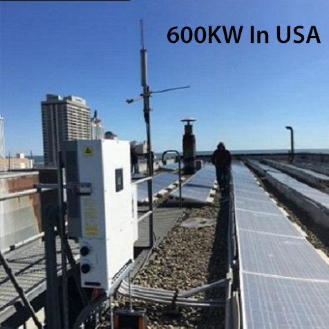 600KW Ground-Mounted Solar Power System in USA